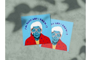 Почтовая открытка «Айрис Апфель», модные классики