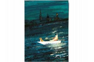 Открытка Дарья Ноксо «Лунный свет»