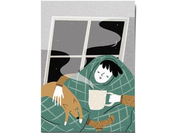 Открытка Дарья Ноксо «Уютный чай»