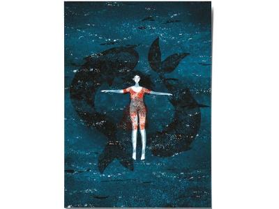 Открытка Дарья Ноксо «В воде»