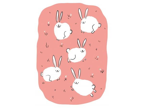 Открытка Дарья Ноксо «Крольчата»