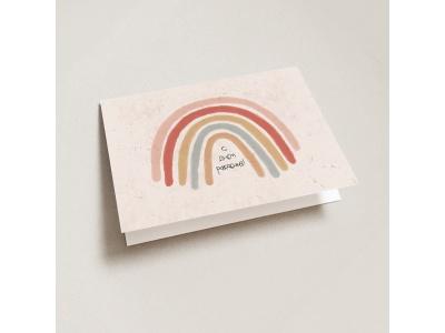 Открытка поздравительная «С Днем Рождения» с конвертом