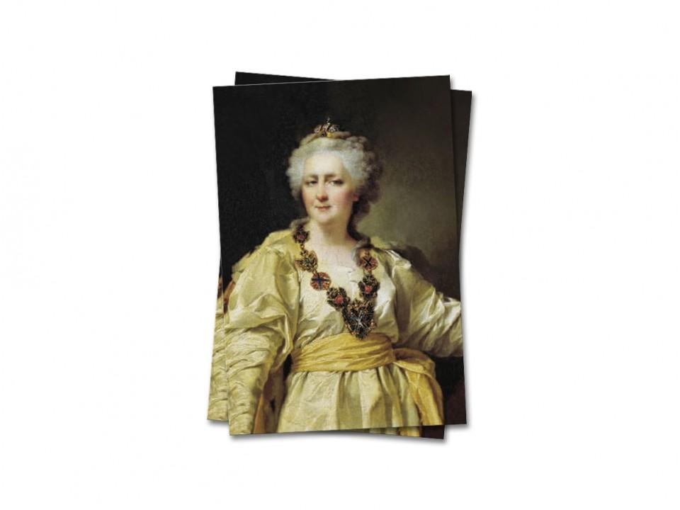 Почтовая открытка Императрица Екатерина II