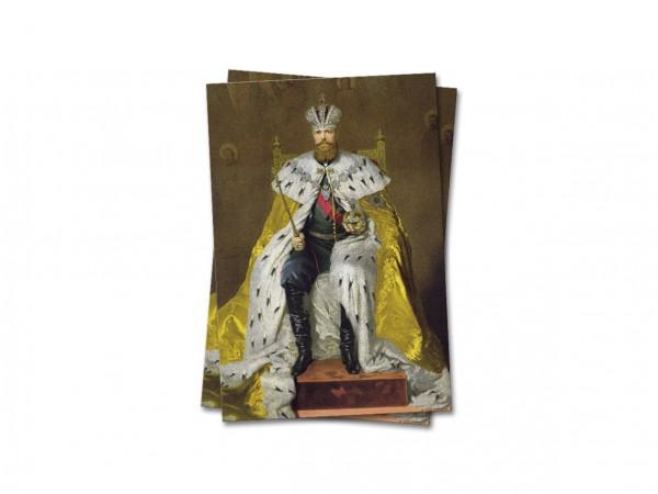 Открытка почтовая Император Александр III