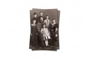Открытка почтовая Семья Императора Александра III