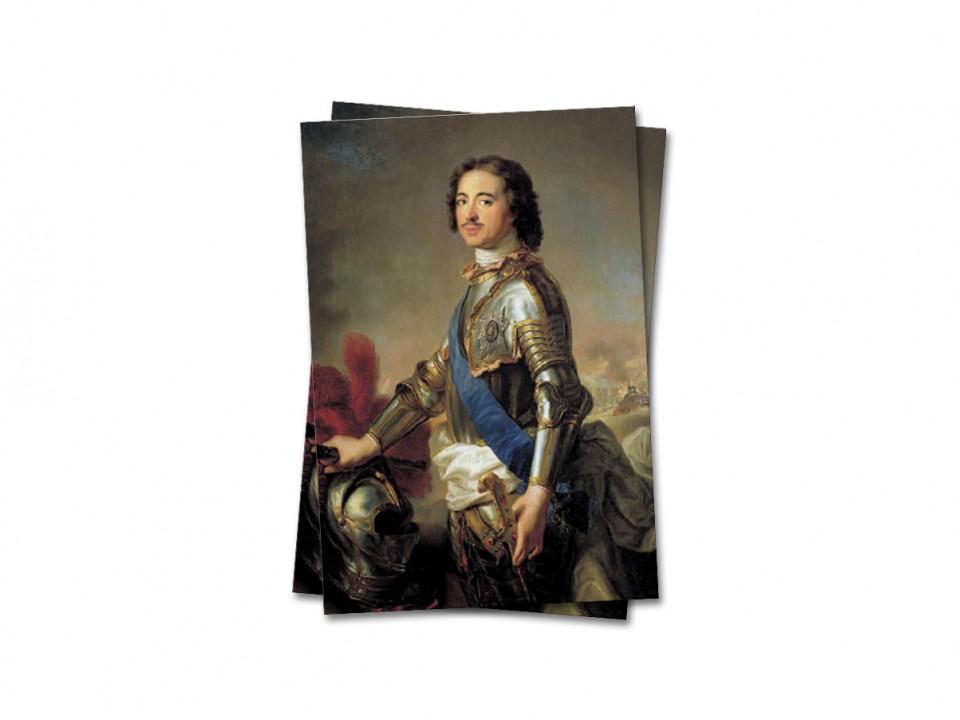 Почтовая открытка Император Петр I