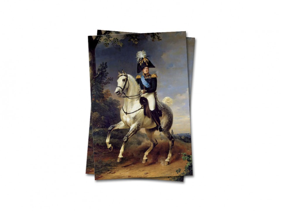 Почтовая открытка Император Александр I