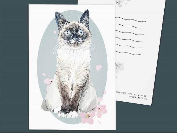 """Почтовая открытка """"Кисун"""""""