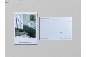 Почтовая открытка фото «Доходный дом Якова Перетца», Валерия Кузнецова