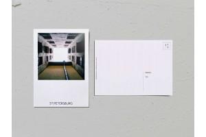 Почтовая открытка фото «Двор колодец в Тучковом переулке», Валерия Кузнецова