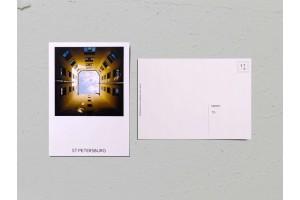 Почтовая открытка фото «Двор-колодец на Васильевском острове», Валерия Кузнецова