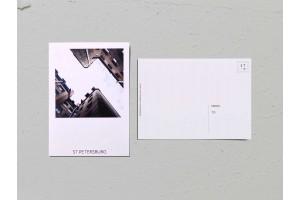 Почтовая открытка фото «Двор-колодец на Рылеева, 21», Валерия Кузнецова