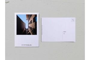 Почтовая открытка фото «Двор-колодец на Куйбышева, 21», Валерия Кузнецова