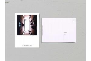 Почтовая открытка фото «Двор-колодец на наб. Фонтанки, 54», Валерия Кузнецова
