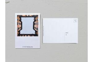 Почтовая открытка фото «Двор-колодец на Большой Монетной, 22», Валерия Кузнецова
