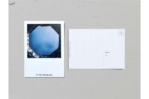 Почтовая открытка фото «Двор-колодец на Малом пр. Петроградской стороны, 1Б», Валерия Кузнецова