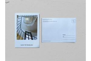 Почтовая открытка фото «Доходный дом Липавского», Валерия Кузнецова