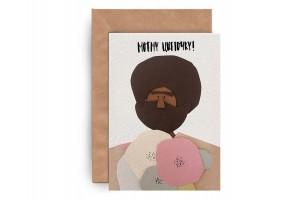 Почтовая открытка «Цветочек»