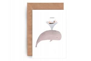 Почтовая открытка «Счастье»