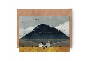 Почтовая открытка «Будем счастливыми»