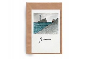 Почтовая открытка «Мечтать»