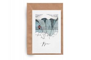 Почтовая открытка «Путь»
