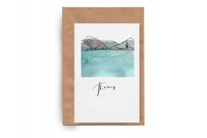 Почтовая открытка «Поиск»