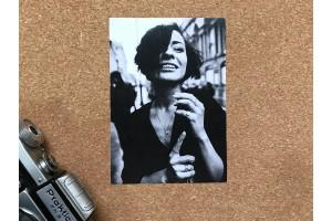 Почтовая фото открытка «Парижанка»