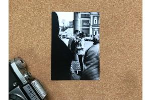 Почтовая фото открытка «Влюбленные»