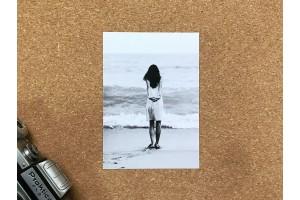 Почтовая фото открытка «Утро»