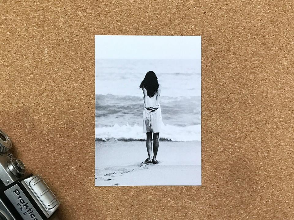 Почтовая фото открытка «Утро» для посткроссинга