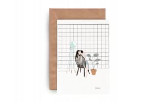 Почтовая открытка «Новый дом»