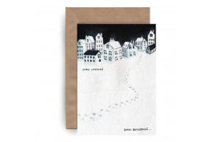 Почтовая открытка. Новый год «Зимы волшебной»