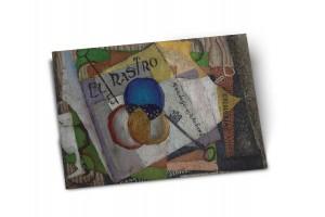 Почтовая открытка «Блошиный рынок» автор Диего Ривера
