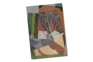 Почтовая открытка «Телеграфный столб» автор Диего Ривера