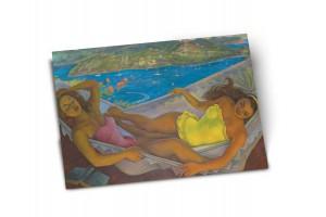 Почтовая открытка «Гамак» автор Диего Ривера