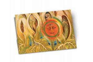 Почтовая открытка «Солнце и жизнь», Фрида Кало