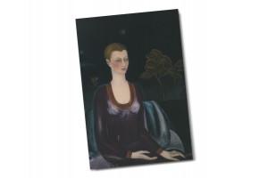 Почтовая открытка «Портрет Алисии Галант», Фрида Кало