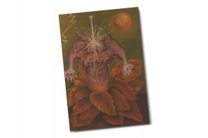 Почтовая открытка «Цветок жизни», Фрида Кало