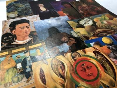 Набор репродукций Фриды Кало - 10 открыток