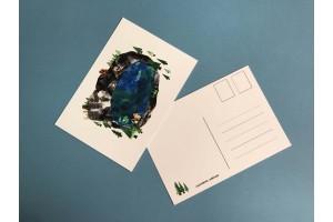 Почтовая открытка «Карьер Рускеала», Елена Пирус