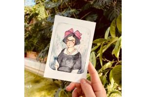 Почтовая открытка «Молодая Фрида», Елена Пирус