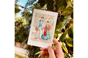 Почтовая открытка «Фрида и Диего» , Елена Пирус