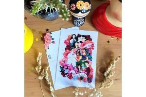 Почтовая открытка «Фрида - коллаж», Елена Пирус
