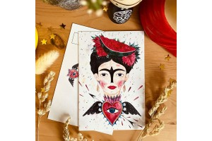Почтовая открытка «Фрида Кало», Елена Пирус