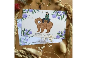 Почтовая открытка «Welcome to Karelia», Елена Пирус