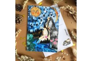 Почтовая открытка «Мать - природа», Елена Пирус