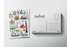 Почтовая открытка «Питер», Елена Пирус
