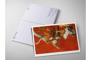 Почтовая открытка «Красная шапочка. Волк», Антон Ломаев