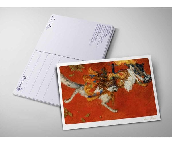 Открытка «Красная шапочка. Волк» из коллекции Ломаева Антона